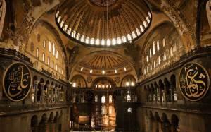 Hagia Sofia (interior), Istanbul