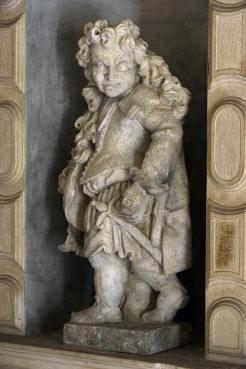 """Orazio Marinali (e Giacomo Cassetti?), Nano. Longare, villa Garzadori, da Schio detta """"Grotta del Marinali"""""""