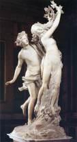 Gian Lorenzo Bernini, Apollo e Dafne. Roma, Galleria Borghese