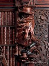 Francesco Pianta, La Spia, 1657, dossali lignei. Venezia, Scuola grande di San Rocco © Franco Cosimo Panini Editore