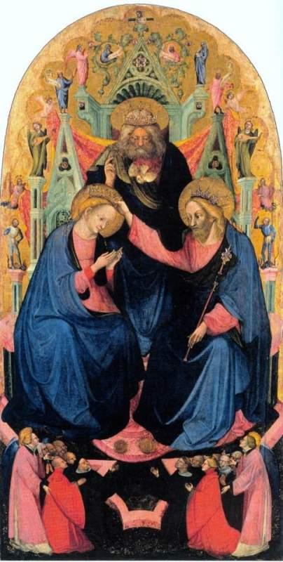 2. Niccolò di Pietro, Incoronazione della Vergine, inizi del XV secolo, Rovigo, Accademia dei Concordi