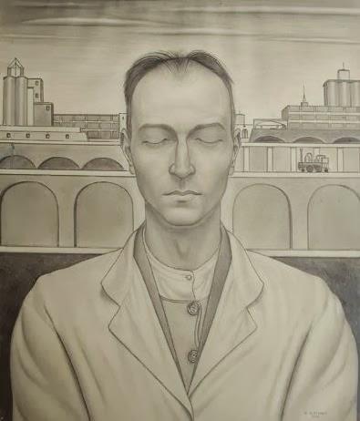 Arturo Nathan, Autoritratto, 1925