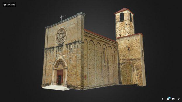 Ricostruzione della chiesa di Sant'Agostino ad Amatrice