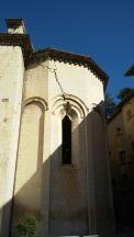 Visso, Collegiata di Santa Maria, abside (esterno)