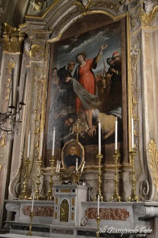 Martirio di Santa Lucia, attribuita a Bernardo Strozzi