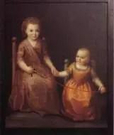 il ritratto di Elisabetta Canori Mora bambina