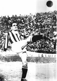 Luisito Monti in maglia bianconera