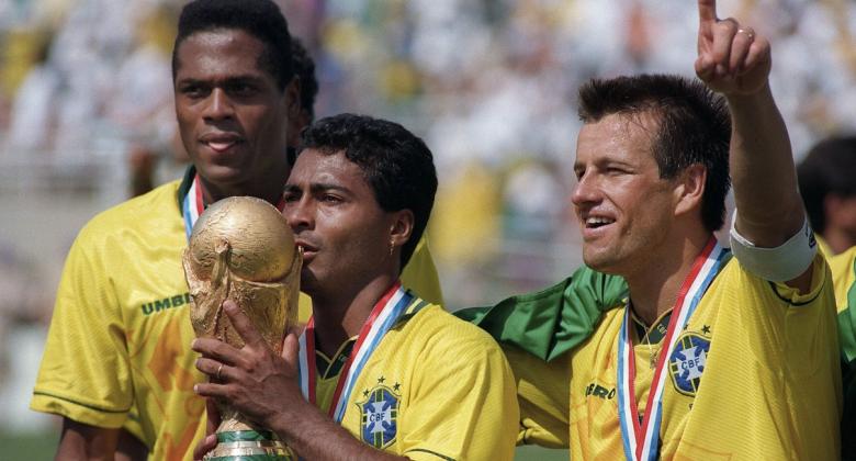 """Brasile """"tetracampeao"""" nel 1994"""