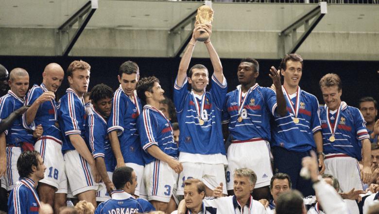 L'Equipe de France per la prima volta Campione del Mondo