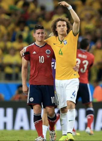 """David Luiz lo dice a tutti: è """"Ames"""" il fenomeno"""