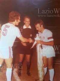 Wilson e Beckenbauer ad inizio partita (fonte LazioWiki - Vincenzo Cerracchio)