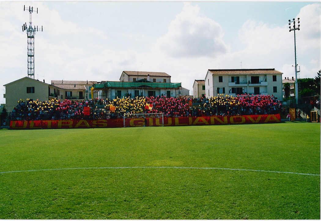 """Rubens Fadini, """"l'eroe per caso"""" dello stadio di Giulianova"""