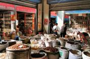 Market of traditional medicine - Xian