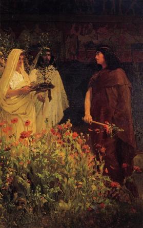 Lawrence_Alma-Tadema_11-Tarquinio il Superbo