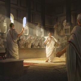 Claudio e i galli in senato