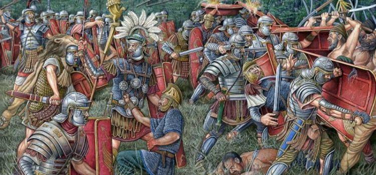 La strategia difensiva di Adriano