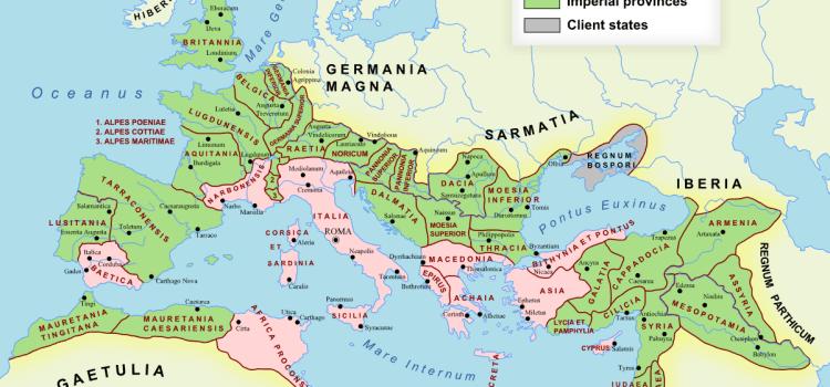 L'impero romano e le sue province