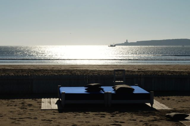 Strandbett