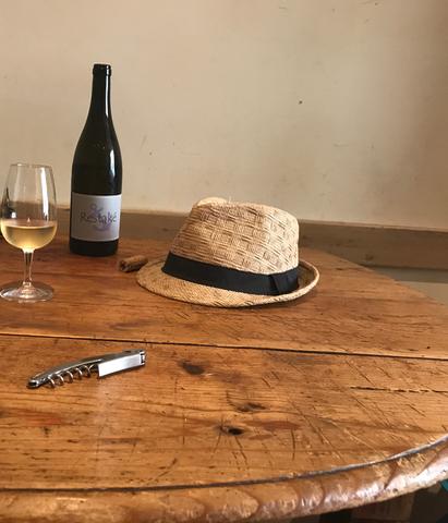 Der Restaké, YoYos einziger weißer Wein, vin nature, Naturwein
