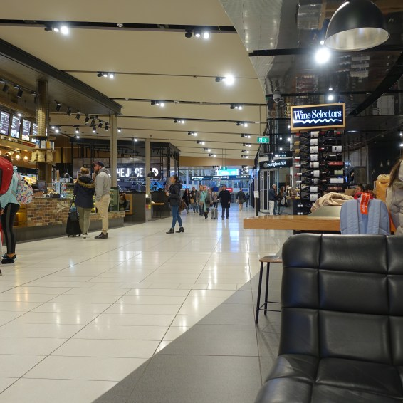 A selection of food stores airside