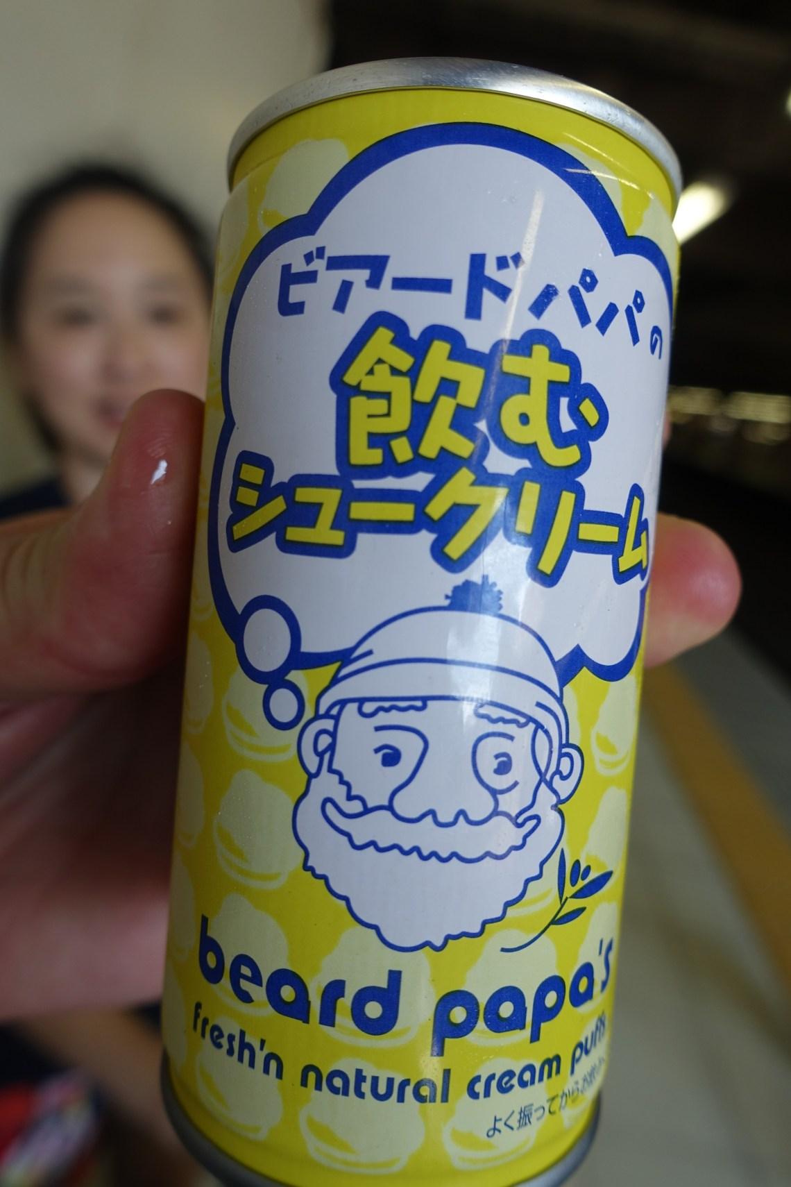 Beard Papa drink