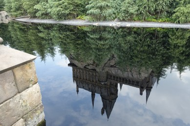 Reflection of Hogwarts
