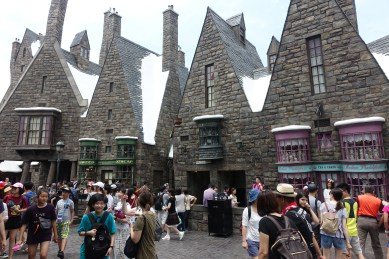 The streets of Harry Potter World