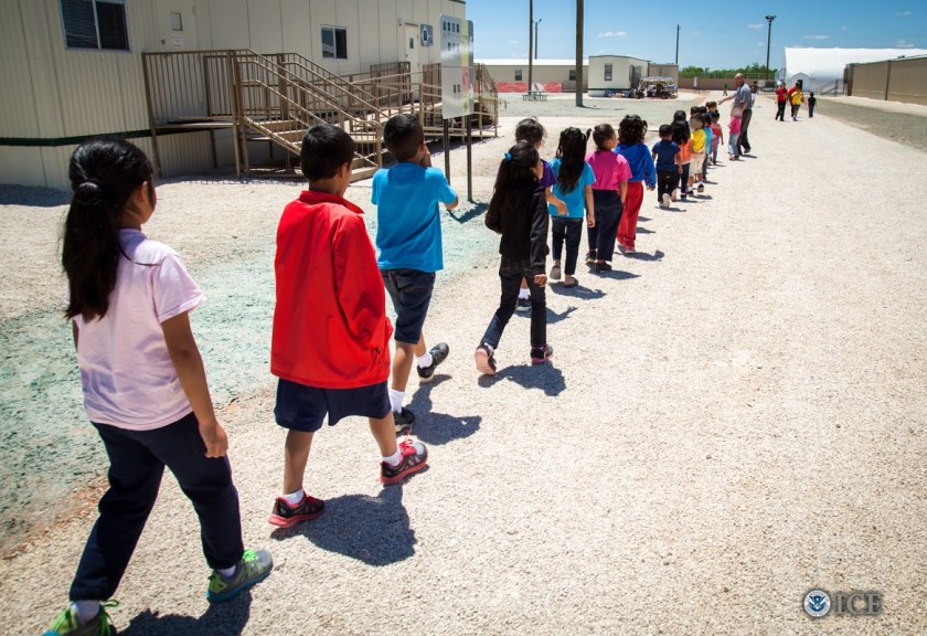 Immigrant Children Detained and Imprisoned by ICE