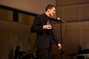 Best Film award winner Sam Solberg