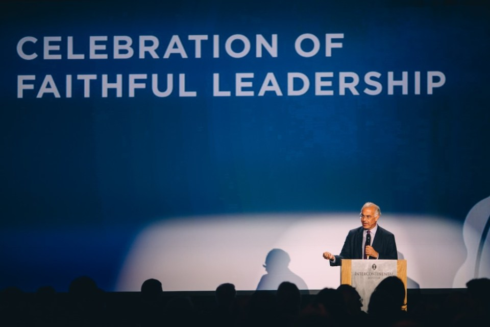 Celebration of Faithful Leadership event