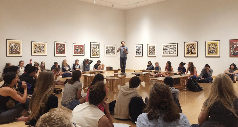 art gathering