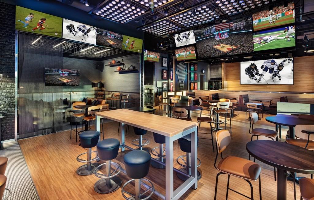 Buffalo Wild Wings restaurant