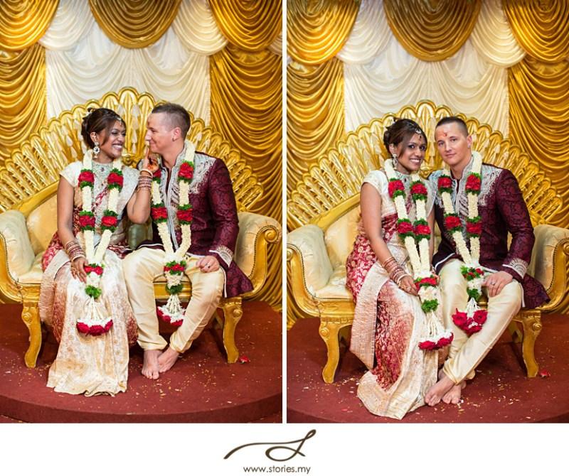 Hindu Temple Wedding Chris Ha