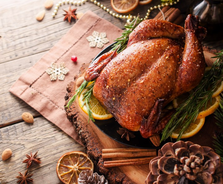 christmas-roast-turkey-on-plate-with-herbs-spices-trimmings