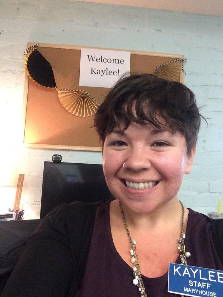 Maryhouse Welcomes, Kaylee!