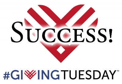 Giving Tuesday Success!
