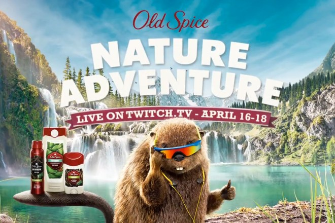 Old Spice Adventure Twitch