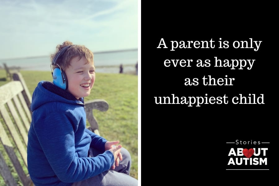 A parent is only ever as happy as their unhappiest child…