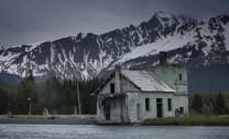 A deserted house in Seward
