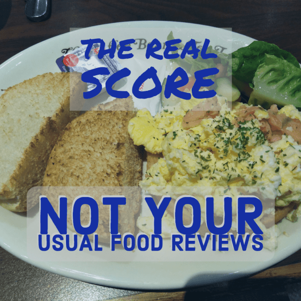 The Real Score: Not Your Usual Food Reviews