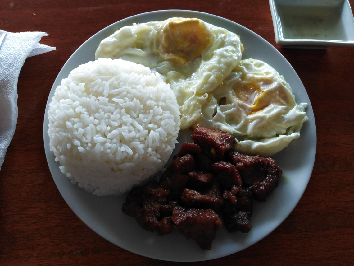 Beef Tapa Meal by Cafe Tribu