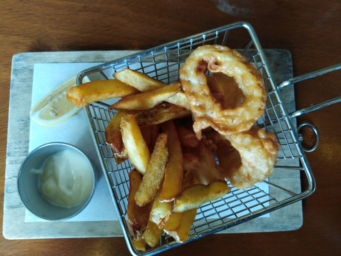 Calamari and Chips by Percy Seafood