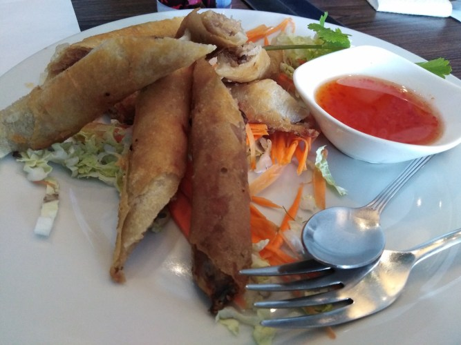 Spring Rolls by Just Thai