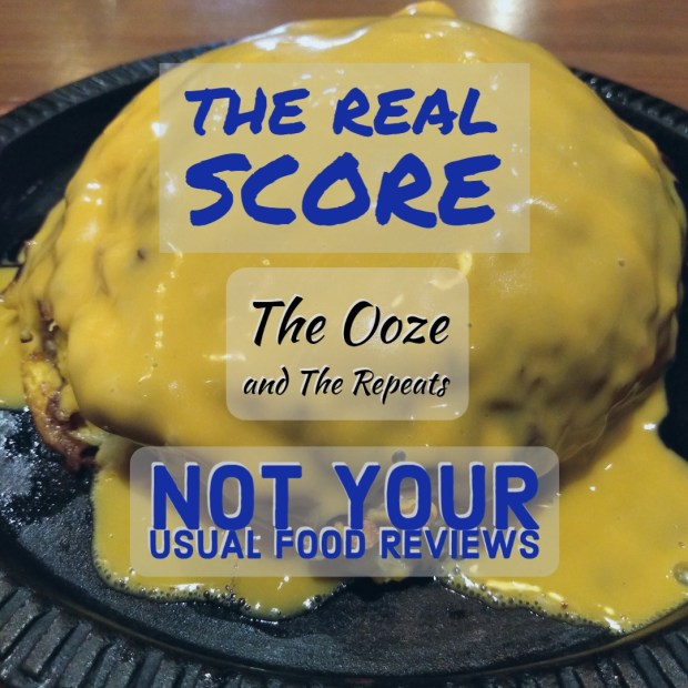 Not Your Usual Food Reviews: The Ooze and The Repeats