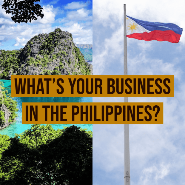 What's Your Business in The Philippines?