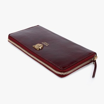 Wallet | Burgundy Tiger