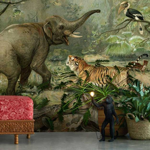 Vintage Animal Wallpaper | Original