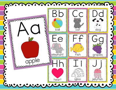 Alphabet & Number Cards – Monday Made-It
