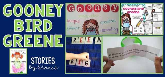 Gooney Bird Greene – Character Traits, Story Retell, Freebies, and More