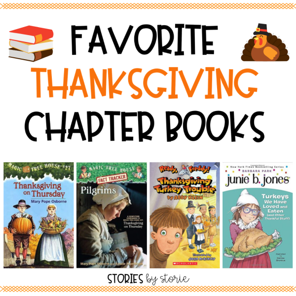 Are you looking for a Thanksgiving chapter book to use with your reading groups or to read aloud this November? These are some of my favorite books.